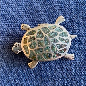 Vintage 925 ss Turtle Locket